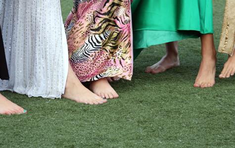 Homecoming queens put best feet forward