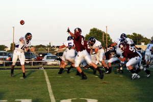 Herd's passing game stalls Eagle defense