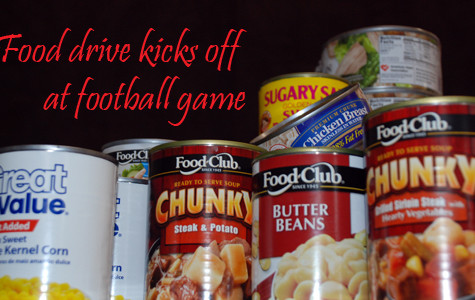 Food drive to begin Friday