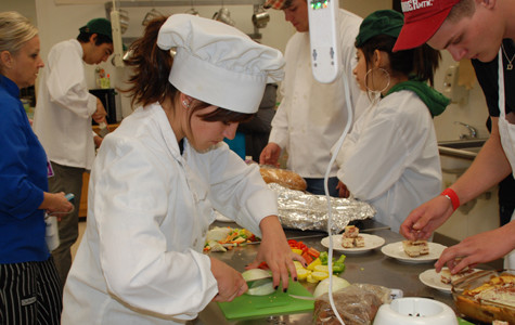 Students take Teen Chef Challenge