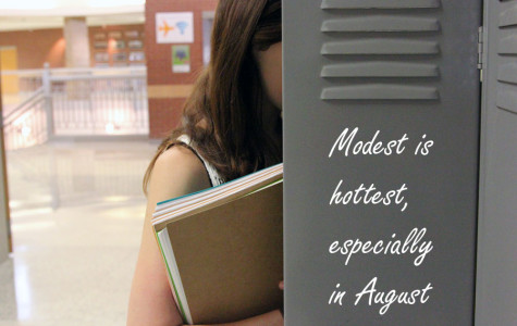 Modest is hottest, especially in August