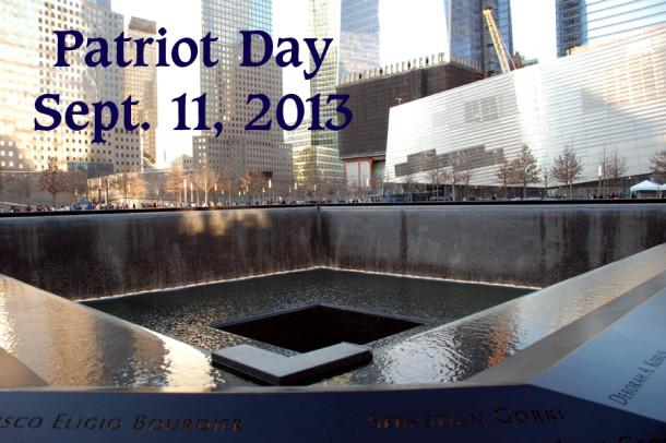 Canyon High School choir members were among visitors to the 9/11 Memorial in New York City in March 2012.