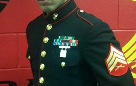 Marine makes brother proud
