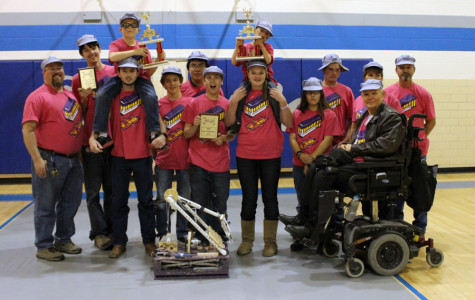 Robotics team takes first place in Lubbock