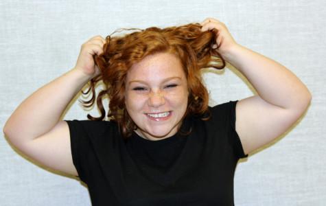 Redhead risks curl catastrophe