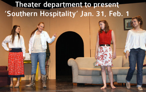 Theater department to perform 'Southern Hospitality'