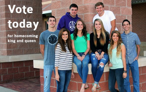Vote for homecoming king and queen