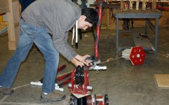 Robotics team learns life skills through building robot