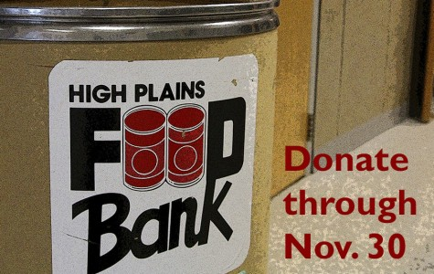 Canned food drive underway