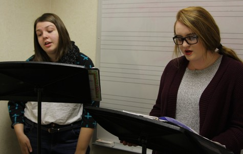 Eight students advance to area choir auditions