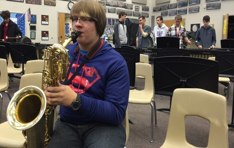 Band members compete in All-Region contest