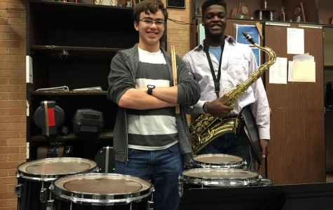 Senior duo to perform in Region Jazz Band