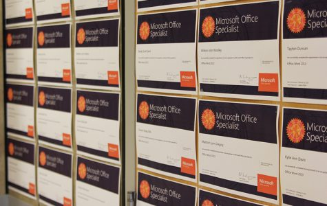 Business students earn Microsoft certifications