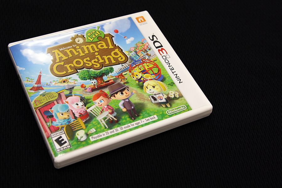 Nintendo%27s+%22Animal+Crossing%3A+New+Leaf%22+can+be+played+on+a+3DS+gaming+system.