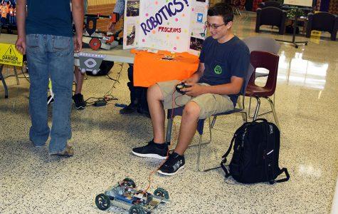 Robotics Club interest meeting Sept. 8