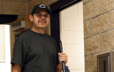 Staff member of month a clean sweep