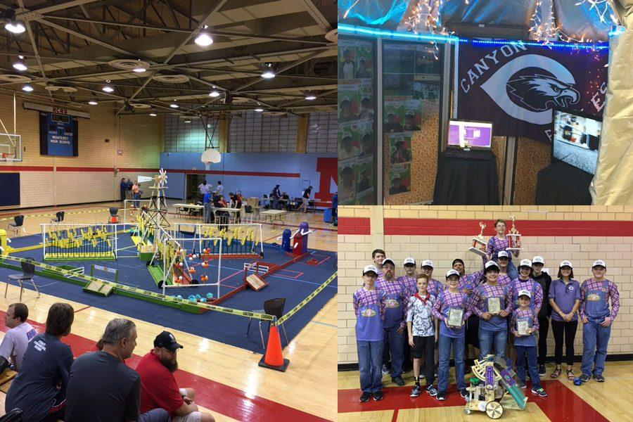 The+robotics+team+competed+at+the+State+UIL+Robotic+Meet+Dec.+8-10.+