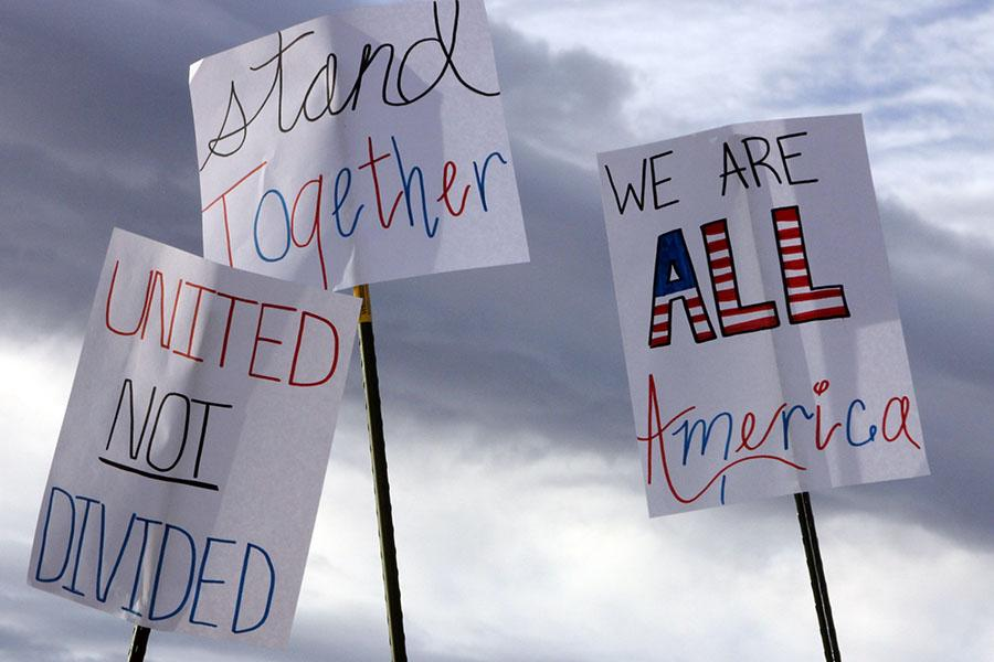 American citizens should focus on what unites the nation, not what divides it.