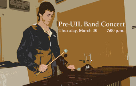 Band to perform Pre-UIL Concert Thursday, March 30