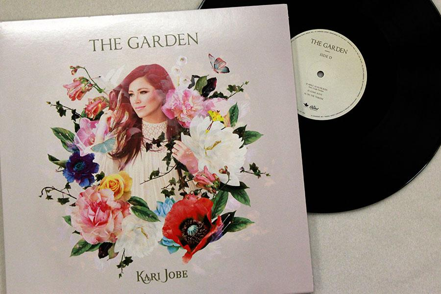 The Garden album is available via vinyl record, CD or a digital download.