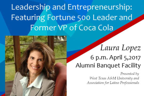 Leadership consultant Laura Lopez to speak at WTAMU April 5