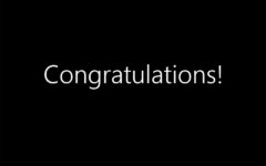 Alternate Text Not Supplied for CongraTulations.