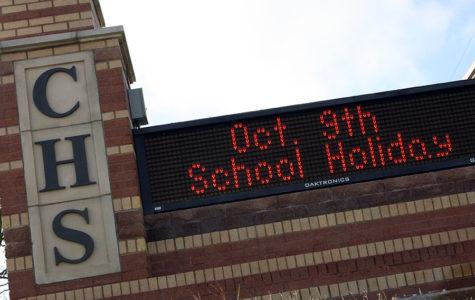 Fall break set for Oct. 5-9