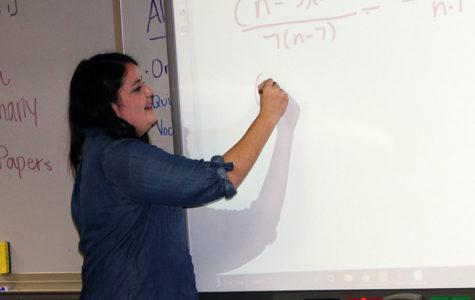 Job adds up to success for math teacher
