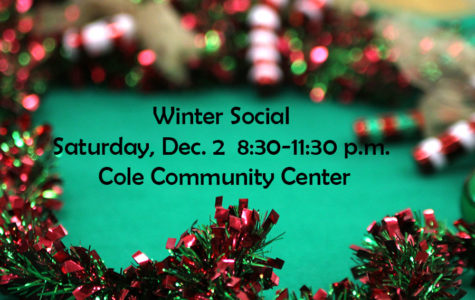 Winter Social set for Saturday