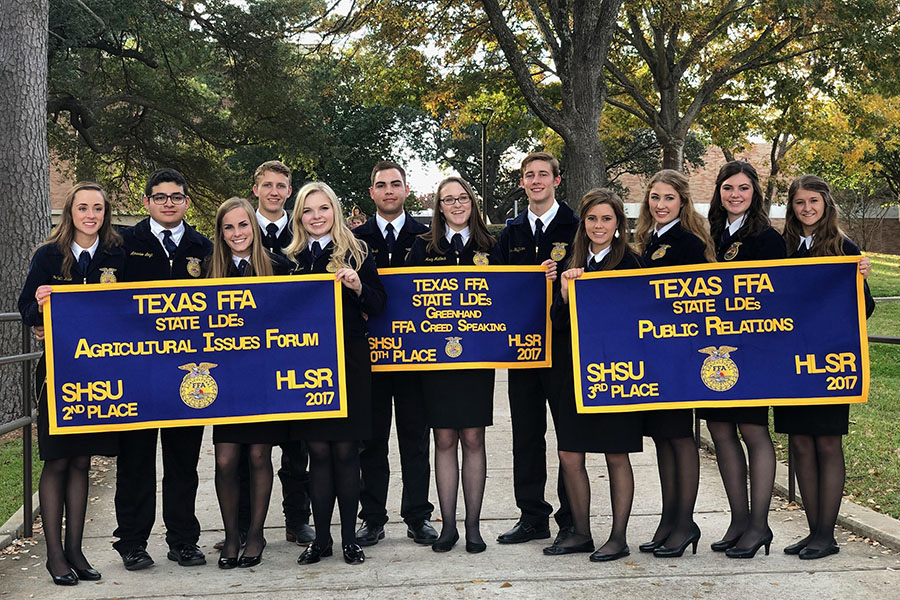 Three teams placed at the recent FFA state contests.