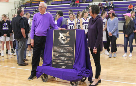 Joe Lombard Gymnasium Ceremony