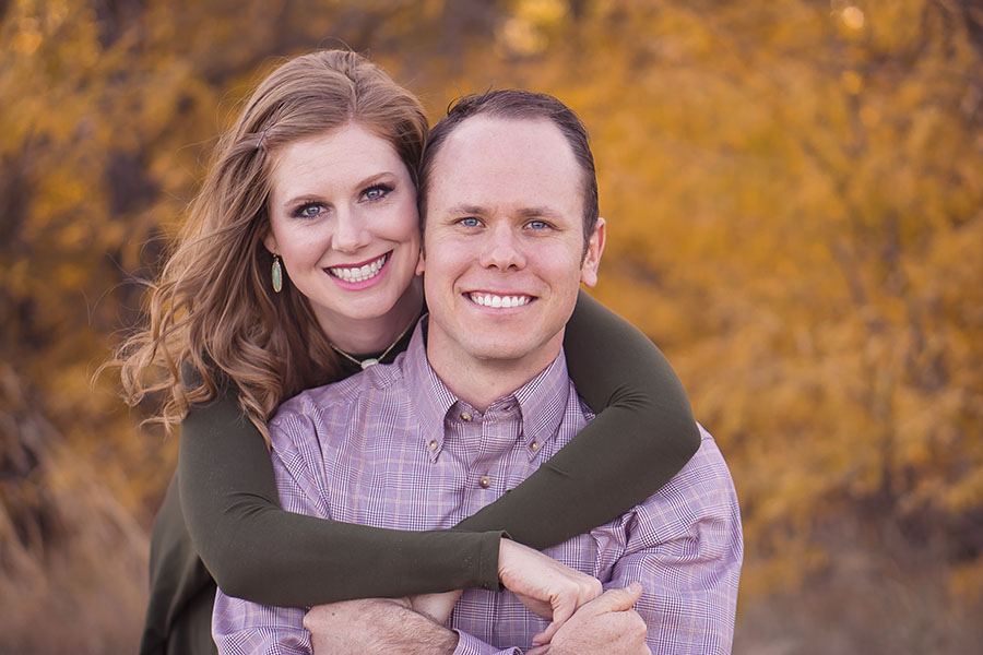 Math teacher Jenni Young and her husband Jacob celebrated five years of marriage in December 2017.