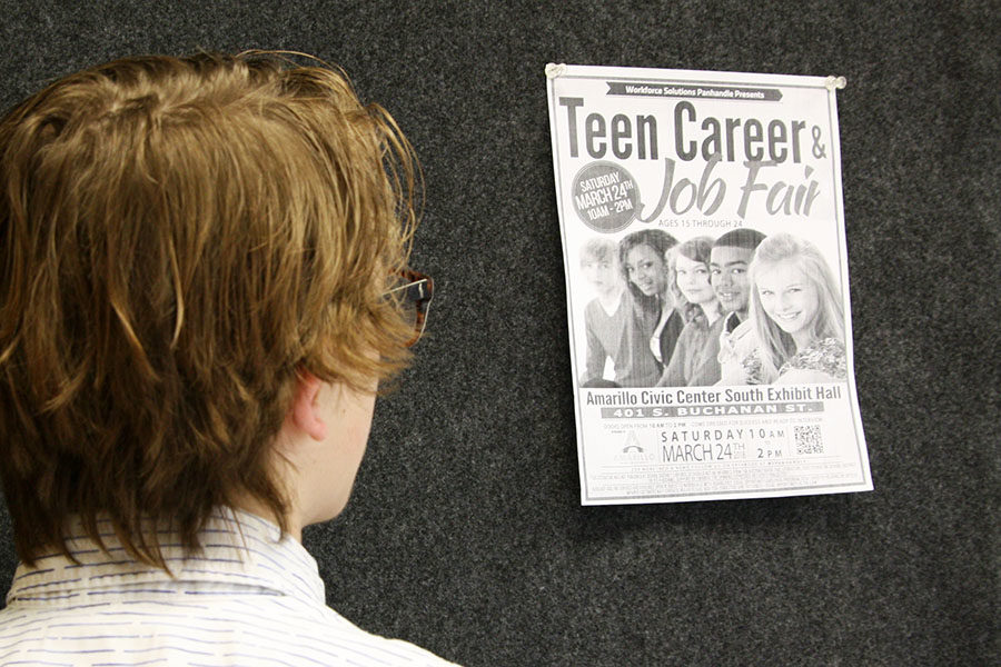 The Teen Career and Job Fair will be March 24 at the Amarillo Civic Center.