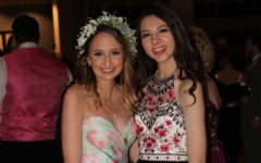 Juniors Kaleigh Rodarte-Suto and Bella Neill