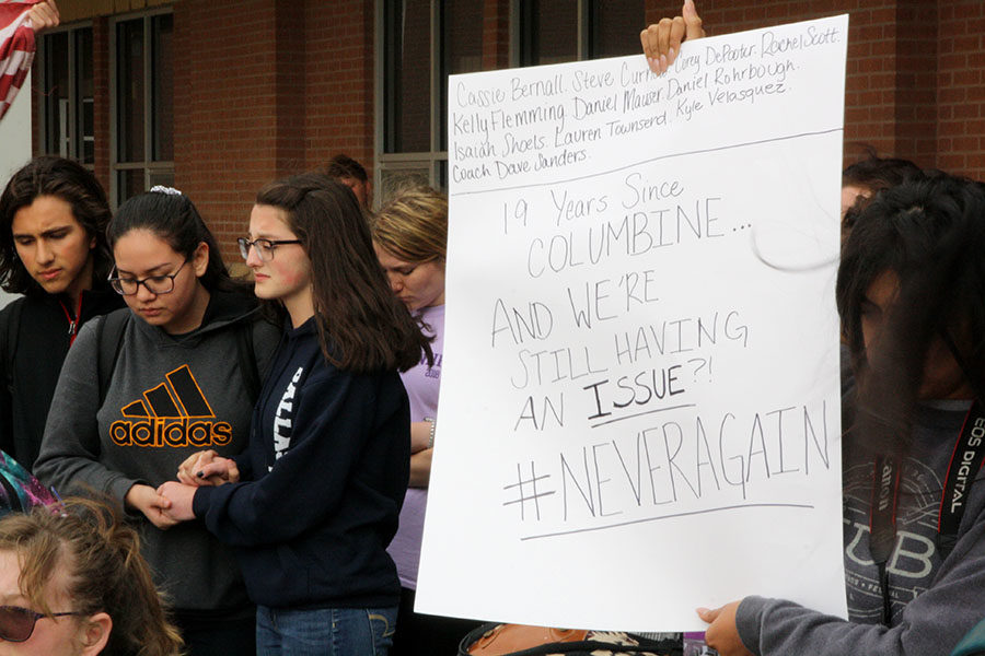 School protects legal right to protest