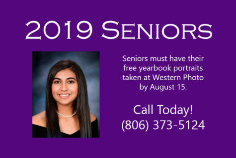Seniors must take yearbook portraits during summer