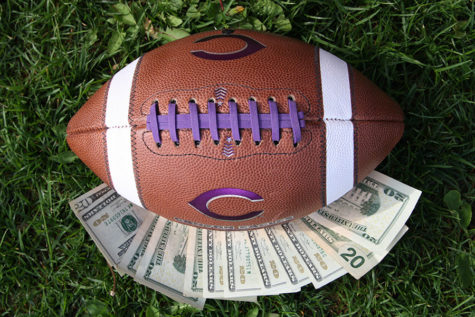 Sideline salaries for collegiate athletes