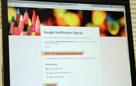 Google Certification Exam registration deadline set for Sept. 20