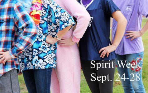 Homecoming spirit week begins Sept. 24