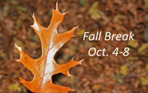 Fall break set for Oct. 4-8