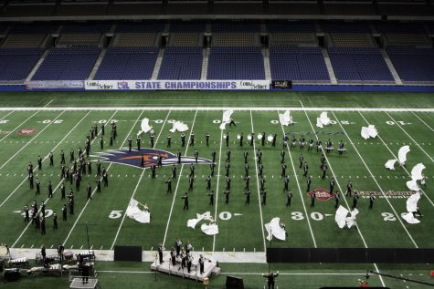 Soaring Pride band advances to area
