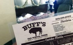 Buff's menu is centered on comfort food with pancakes and omelettes for breakfast, and burgers and hot dogs for dinner.