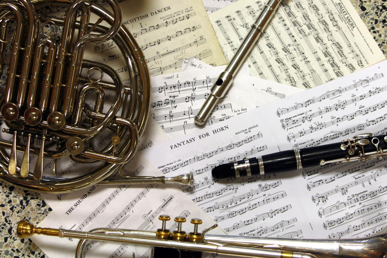 Students will perform a variety of pieces during the ensemble concert, Feb. 4 at 7 p.m.
