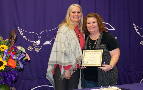 Holbrook named teacher of the year