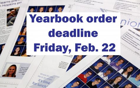 Yearbook staff extends sale through Feb. 22