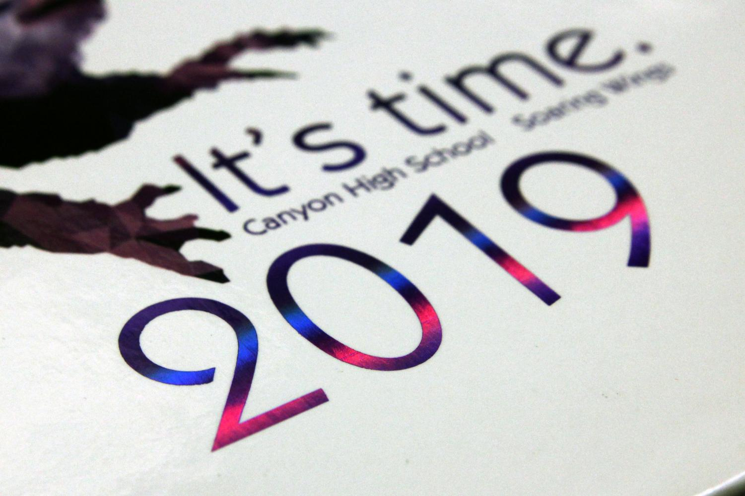 Yearbooks will arrive on campus in May.