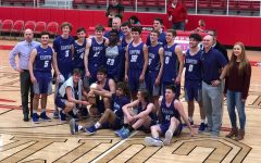 Boys basketball finishes season with improved, winning record