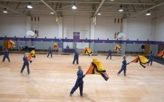 Winter guard's 'Good Morning' rises to competitive challenge