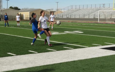 Girls soccer clinches district championship