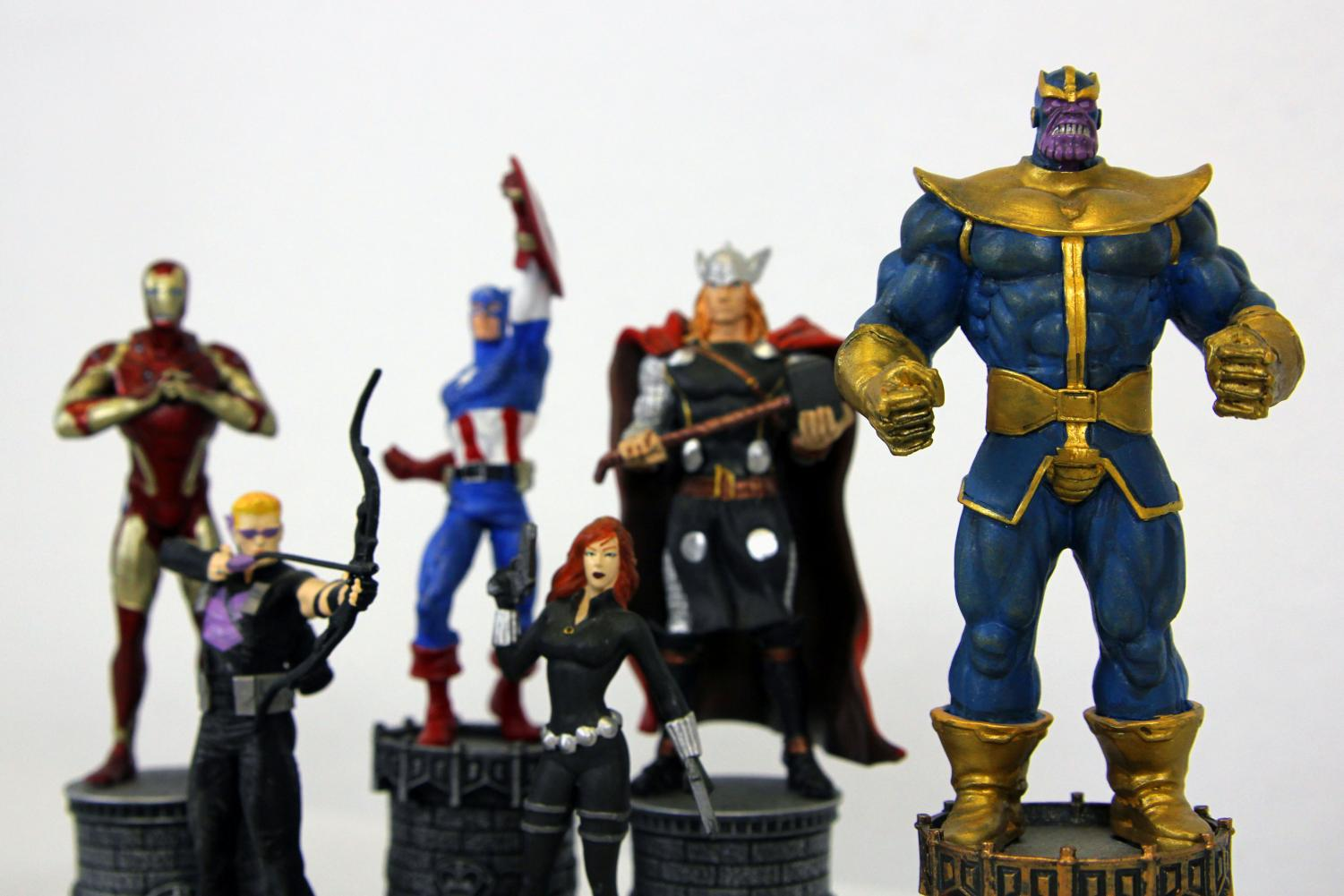 Thanos returns as the main antagonist of